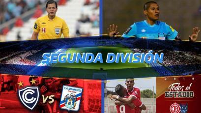 Segunda División: Carrillo y Espinoza dirigirán las semifinales de ida
