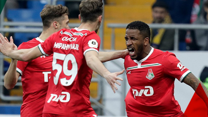 Con un doblete de Jefferson Farfán, Lokomotiv venció por 2-1 a Rostov