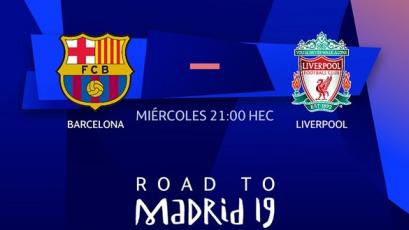Champions League, semifinales: alineaciones oficiales para el Barcelona vs. Liverpool