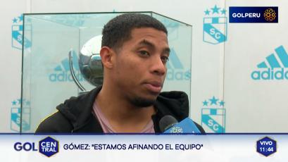 """Flavio Gómez: """"Estamos afinando el equipo"""""""