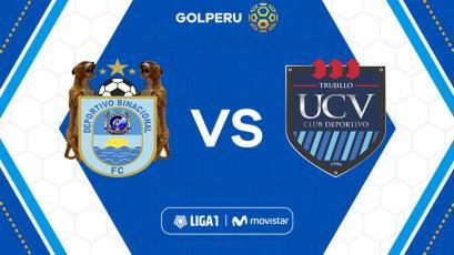 Liga1 Movistar: Deportivo Binacional se mide con César Vallejo