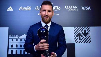 Lionel Messi ganó por primera vez el premio The Best al mejor jugador del mundo (VIDEO)