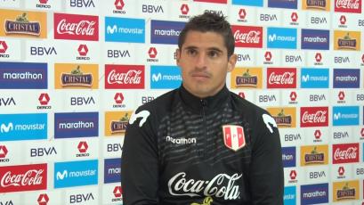 """Aldo Corzo: """"Me siento vigente cada vez que vengo a la selección"""" (VIDEO)"""