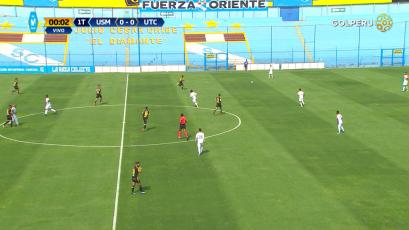 Universidad San Martín igualó sin goles ante UTC