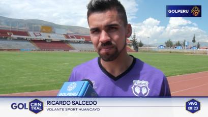 """Ricardo Salcedo: """"Tenemos las armas necesarias para lograr el título"""""""