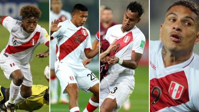 Perú perdió hoy cuatro futbolistas para enfrentar a Bolivia y Argentina