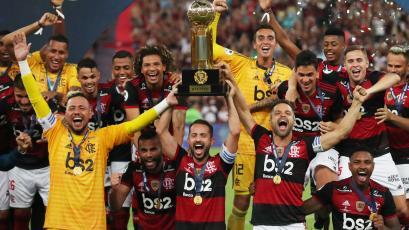 Flamengo se consagró campeón de la Recopa Sudamericana tras golear a Independiente del Valle