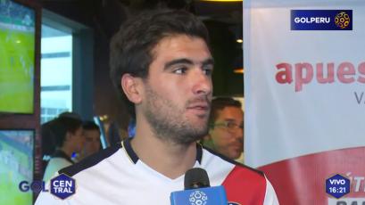 """Álvaro Ampuero: """"Será bonito volver a jugar Copa Sudamericana"""""""