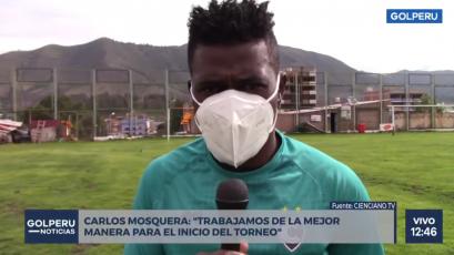 """Carlos Mosquera: """"El objetivo es el campeonato este año"""" (VIDEO)"""