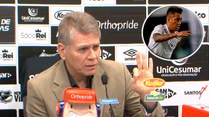 Christian Cueva no gusta en Santos: Paulo Autori confirmó salida inminente del peruano (VIDEO)