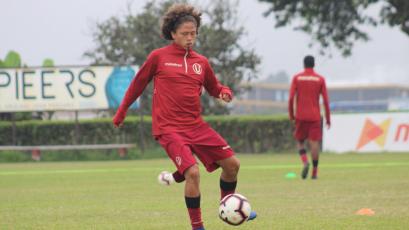"""Paulo de la Cruz de Universitario: """"Sigo con la mentalidad de volver al primer equipo"""""""
