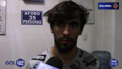 """Juan Diego Gutiérrez: """"Espero llegar bien al reinicio del campeonato"""""""