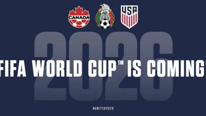 Mundial 2026 será organizado por Estados Unidos, México y Canadá