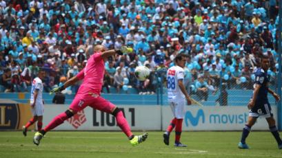 Manuel Heredia tras el triunfo ante Cristal: