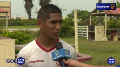 """Roberto Siucho: """"Quintero al parecer ya está bien, va a ser un gran aporte al equipo """""""