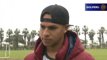 """Diego Rangel: """"Antes de pensar en mi debut, lo mejor sería que el equipo gane"""""""