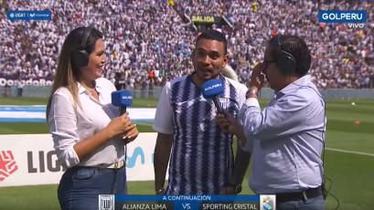 Alianza Lima vs Sporting Cristal: Josimar puso la salsa en Matute y le dejó este mensaje al fútbol peruano (VIDEO)