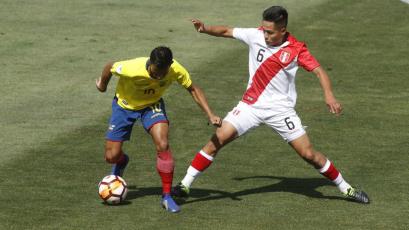 Sudamericano Sub 20: Perú cayó 3-1 ante Ecuador y quedó a un paso de la eliminación