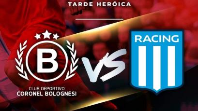 Diego Milito confirmó el duelo entre Bolognesi y Racing Club de Argentina