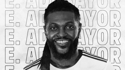 Emmanuel Adebayor es nuevo jugador del Olímpia y jugará la Copa Libertadores