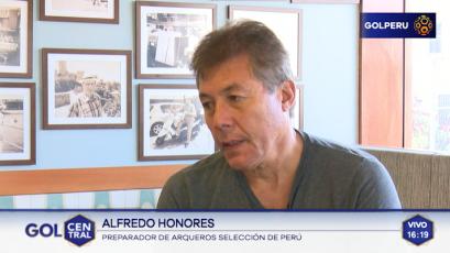 """Alfredo Honores: """"Pedro Gallese ya está de alta, viene entrenando con su club"""""""