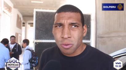 """Giancarlo Carmona: """"Alianza Lima es un equipo muy peligroso"""""""