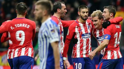 La Liga: Griezmann le da la victoria al Atlético de Madrid