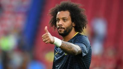 Brasil: Marcelo vuelve al equipo titular para enfrentar a Bélgica