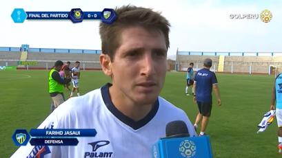 """Farihd Jasaui: """"El equipo luchó y eso es meritorio"""""""