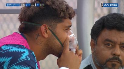 Deportivo Binacional vs. Alianza Lima: Adrián Balboa fue asistido con oxígeno artificial