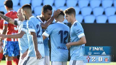 Renato Tapia vio acción en el triunfo amistoso del Celta de Vigo ante el Lugo (VIDEO)