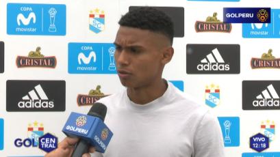 """Marcos López: """"Me gustaría jugar la final contra Alianza Lima"""""""