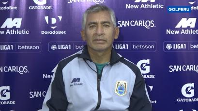 """Luis Flores: """"El equipo se ha repuesto de la derrota ante Sporting Cristal"""" (VIDEO)"""