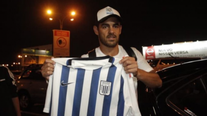 Luis Aguiar llegó esta madrugada para sumarse a Alianza Lima: