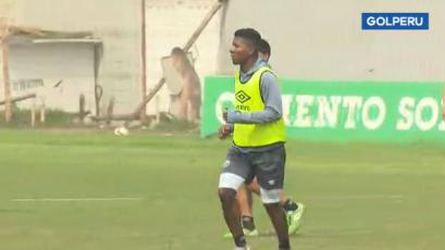 Deportivo Municipal: el nuevo delantero colombiano, Jorge Obregón, ya entrena con el club (VIDEO)