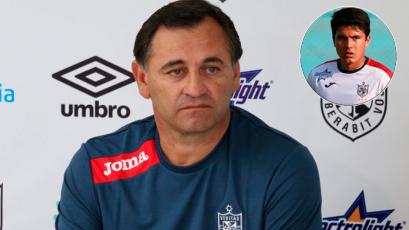 """Jairo Concha se pone a punto para volver: Carlos Bustos señaló que """"falta poco"""" para su reaparición"""
