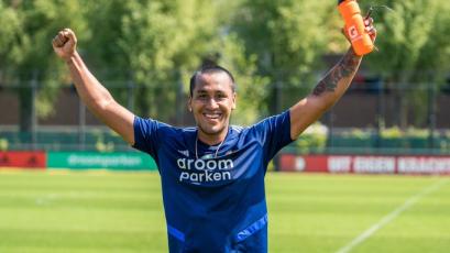 Renato Tapia vuelve a los entrenamientos con el Feyenoord