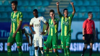 Sergio Peña marca un golazo para darle el empate a Tondela