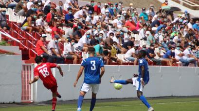 El fútbol español tuvo su primer partido con público en las tribunas (VIDEO)