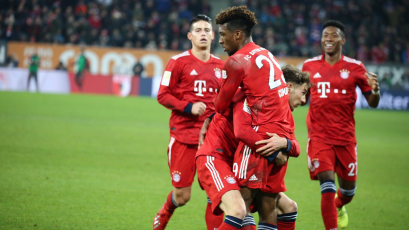 Bayern Múnich supera al Augsburgo como visitante y le mete presión al Dortmund