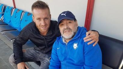 Danilo Carando recordó a Maradona como técnico: