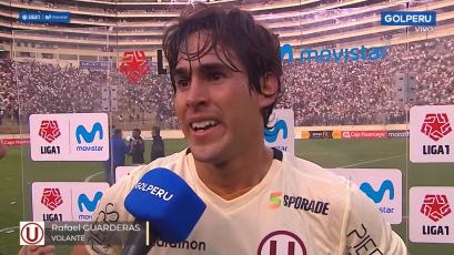 """Rafael Guarderas: """"Ganar el clásico es una emoción muy grande"""" (VIDEO)"""