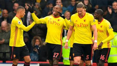 André Carrillo jugó en empate del Watford