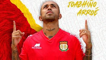 Liga1 Betsson: Joazhiño Arroé es nuevo jugador de Sport Huancayo