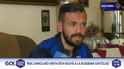 """Luis García: """"Es un lindo desafío jugar un torneo internacional"""""""