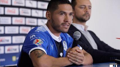 """Joel Sánchez: """"Aportaré para que el equipo se quede en Primera División"""""""