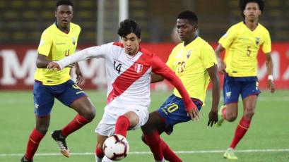 Sudamericano Sub-17: Perú se juega la vida ante Ecuador