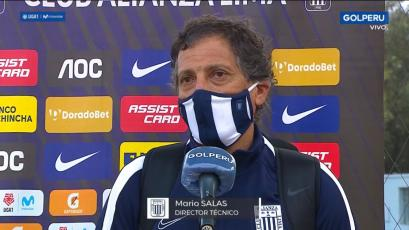"Mario Salas: ""Partidos como este nos entusiasman para lo que viene"" (VIDEO)"