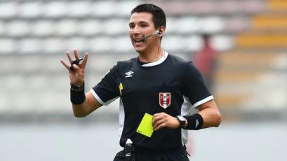 Kevin Ortega es el árbitro peruano designado para el Preolímpico Colombia 2020
