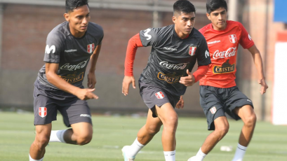 Selección Peruana Sub 23 entrenó tras el triunfo ante El Salvador